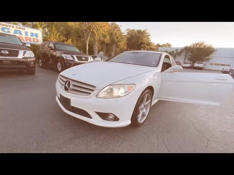 Pre-Owned 2008 Mercedes-Benz CL-Class 2dr Cpe 5.5L V8
