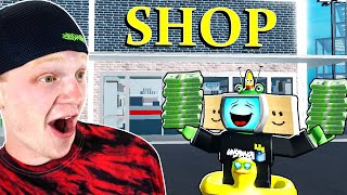 I Opened A SHOP In Roblox And MADE $$$ MILLIONS!