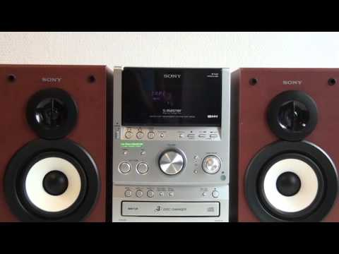 SONY CMT-SPZ50 MICRO HI-FI COMPONENT SYSTEM