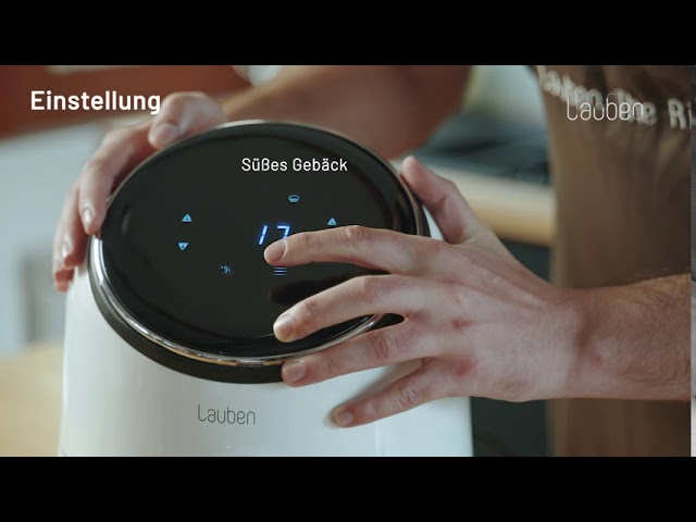 Video-Anleitung: Lauben Hot Air Fryer 2500WT