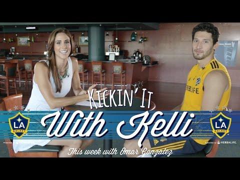 Omar Gonzalez | Kickin' it with Kelli