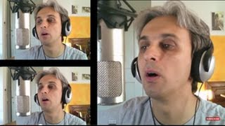 How to sing a cover of This boy Beatles Vocal Harmony Tutorial lesson