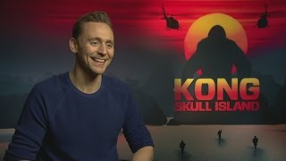 Том Хиддлстон, Kong: Tom Hiddleston talks Indiana Jones, romance & football