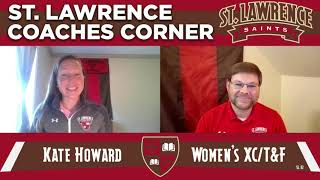 Saints Coaches Corner: Head Women's XC/TF Coach Kate Howard