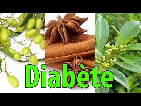 Une liste de produits pour le diabète