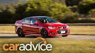 2016 Holden Commodore VFII Review and drag race