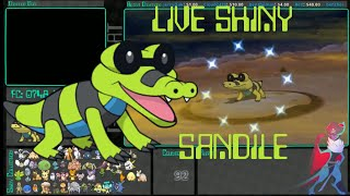 Sandile  - (Pokémon) - [Live] Shiny Sandile at 92 Dex Nav Encounters | Omega Ruby