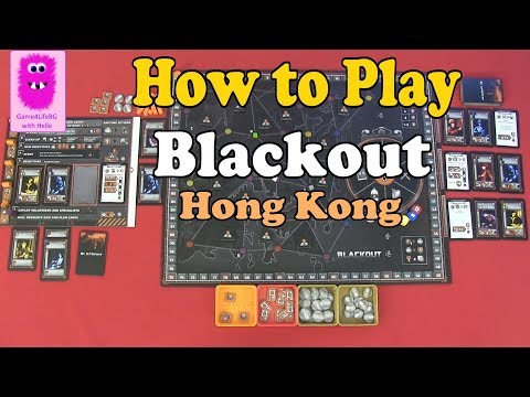 How to play - Blackout: Hong Kong