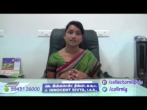 Dengue Awareness Speech by Collector, Nilgiris