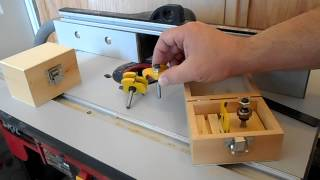 Custom Tongue and Groove Router Bits