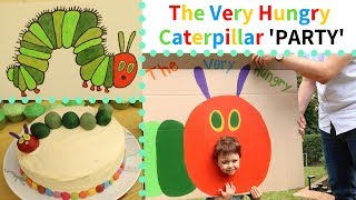 The Very Hungry Caterpillar Party | DIY Theme Decorations | 1st Birthday Party
