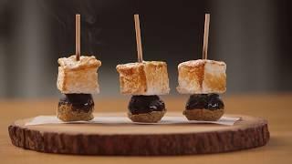 Fudge Brownie S'More Kabobs