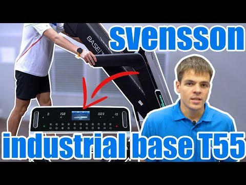 Беговая дорожка Svensson Industrial Base T55