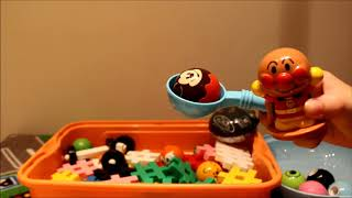 アンパンマン ミッキー ディズニー&ディズニー・ピクサーキャラクターズ ディズニーはじめて英語おしゃべりいっぱい!ガチャ