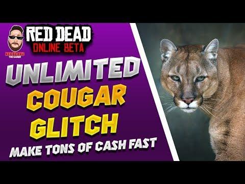 Unlimited Cougar Money Glitch In Red Dead Online Xp Glitch