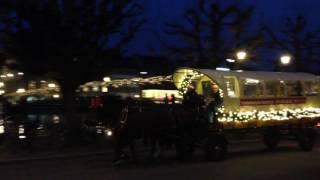 スイス発 ルツェルンを走るクリスマス馬車【スイス情報.com】