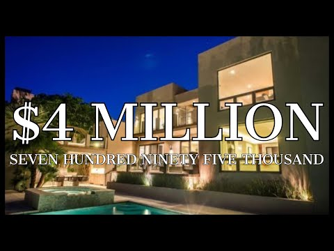 $4,795,000 SMART HOME with FLOATING STAIRCASE & OCEAN VIEWS!