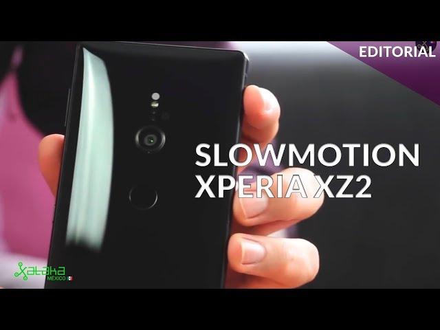 Así es la primera #cámaralenta en FULL HD del Sony Xperia XZ2