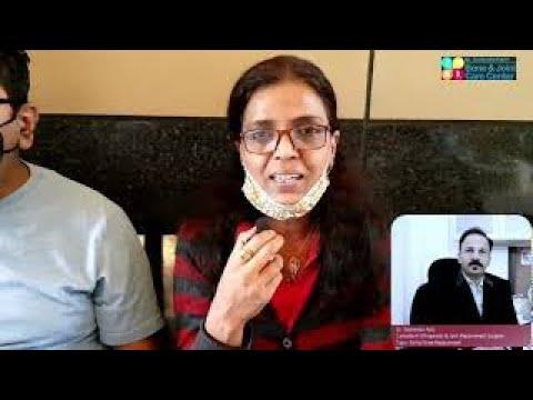 Mr. Sanjiv Jain Happy After HIP REPLACEMENT SURGERY in Mulund | Hip Replacement Surgeon Mulund India