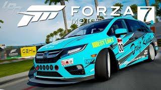 Driften im Van?! Honda Odyssey - FORZA MOTORSPORT 7 | Lets Play Forza 7