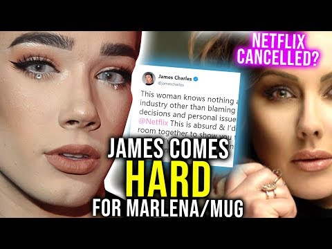 james-charles-comes-hard-4-marlena-on-twitter-netflix-show-cancelled-makeup-cosmetics-tutorial