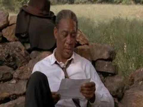 Shawshank Redemption - Hope is a good thing...