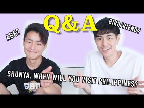 Q&A WITH MY BROTHER!【Do you have girlfriend?】