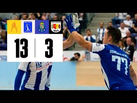 Resumo 6.ª Jor. Liga Europeia Gr. B: FC Porto 13-3 Bassano