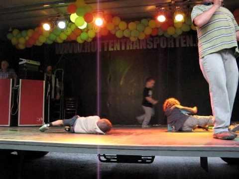 Kei en Pit de Groot op het podium