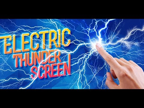 Video of Electric Thunder Screen