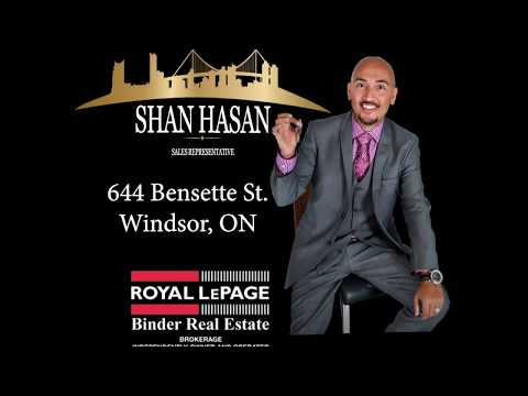 SOLD SOLD! 644 Bensette Windsor | $199,500! | THE HASAN GROUP