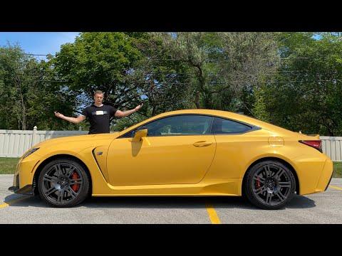 THIS Is My Best Doug Demuro Impression - 2020 Lexus RCF