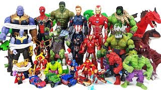 Thanos & Villains are Coming,  Go~! Avengers, Iron Man, Spider Man, Captain America, Hulk