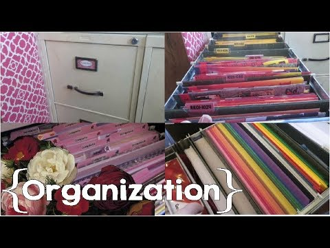 How I Organize My File Cabinets ║ Homeschool / Home Business Organization │ Feat. ACE Curriculum