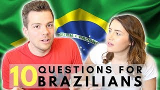 Questions for Brazilians 👀🇧🇷| What do British People Think About Brazil? - Video Youtube