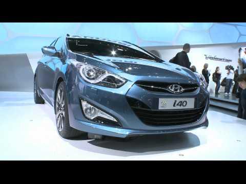 Geneva Motor Show 2011: Hyundai i40 - What Car?