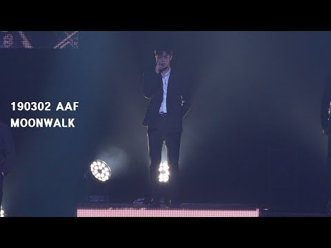 [4K] 190302 AAF MOONWALK (multi Ver.) 아스트로 문빈 ASTRO MOONBIN
