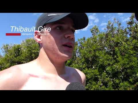 La victoire en vidéo de Thibault Gire au triathlon de Piana