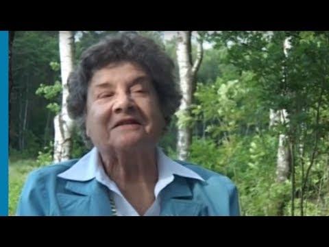Бетти Меир рассказывает и каждодневных трудностях в лагере Берген-Бельзен