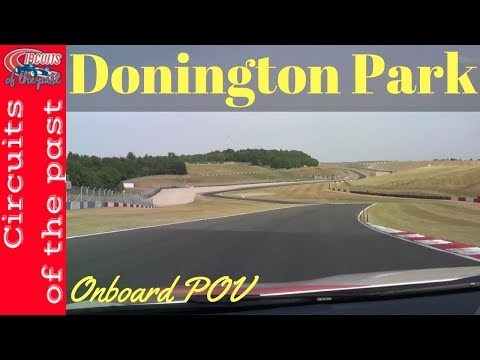 Donington Park Grand Prix Circuit Onboard - Slow lap in Safety Car
