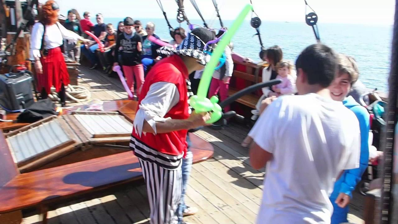 Preparación de un juego de piratas