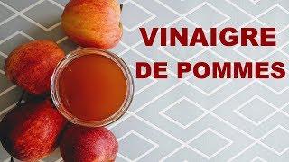 Vinaigre de pommes zéro déchet