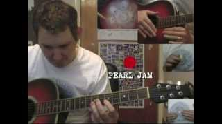 The Color Red - Pearl Jam acoustic cover