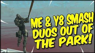 ME & Y8 SLAY UP THE DUO LOBBY! COD BLACKOUT HIGH KILL DUO WIN!