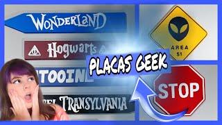 Diy Placas Geek- DECOR NERD