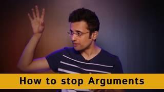 How to stop Arguments in hindi - By Sandeep Maheshwari
