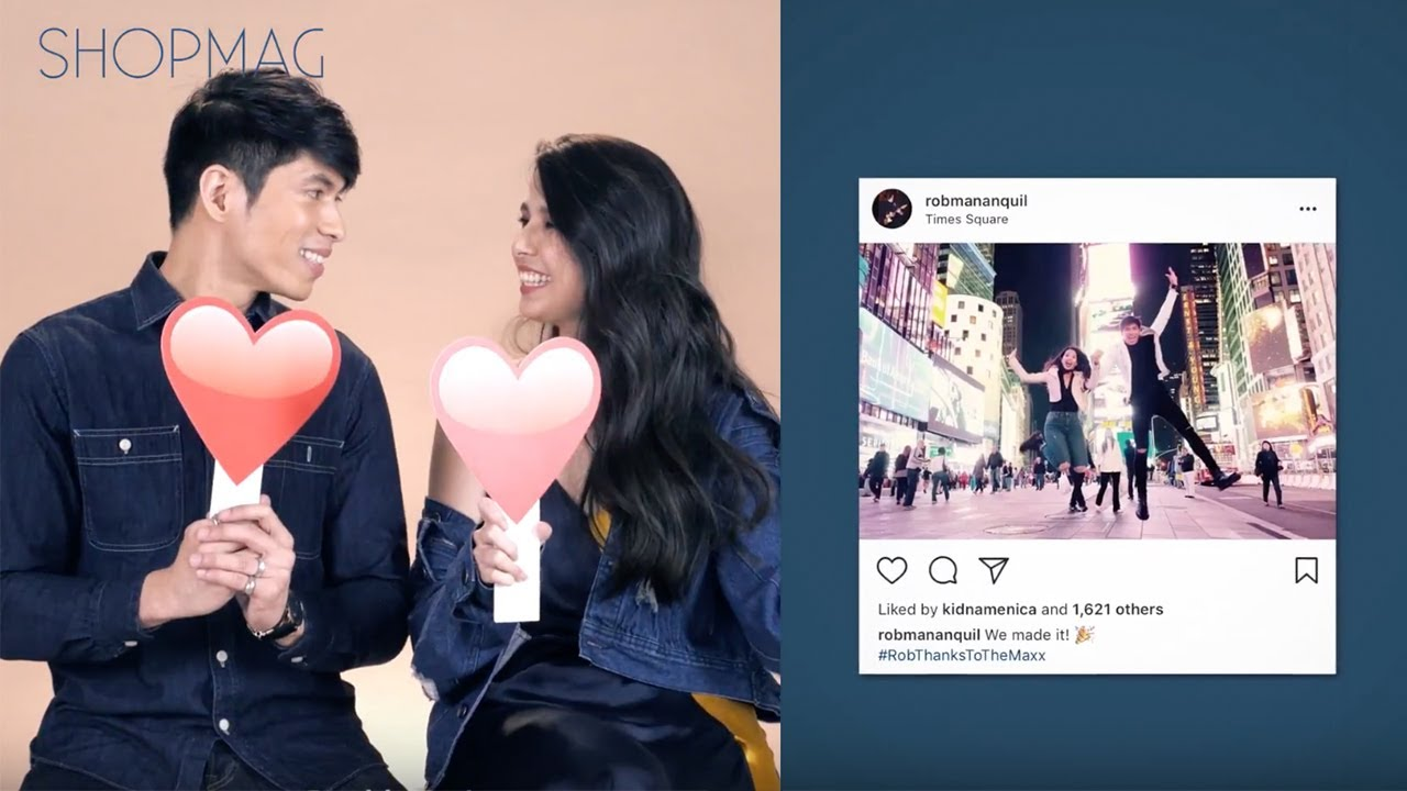 No Tap or Double Tap with Maxene Magalona & Rob Mananquil
