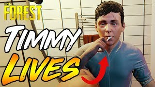 The Forest   NEW ENDING   TIMMY GROWN UP   Full Release UPDATE