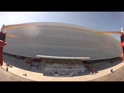 Vôo na Arena do Corinthians - Em 06/04/2014