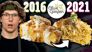 Should Olive Garden Bring This Back From The Past?